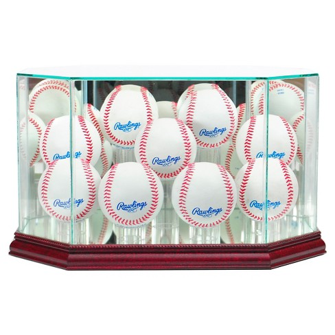 Perfect Cases 9 Baseball Display Case - Cherry Finish - image 1 of 1