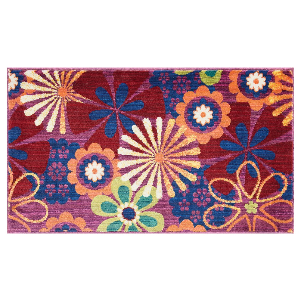 Loloi Isabelle Accent Rug - Pink (1'7