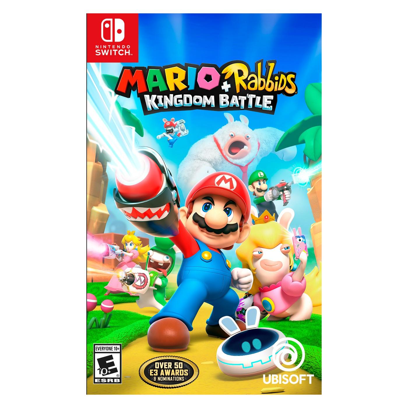 Mario + Rabbids Kingdom Battle - Nintendo Switch - image 1 of 6