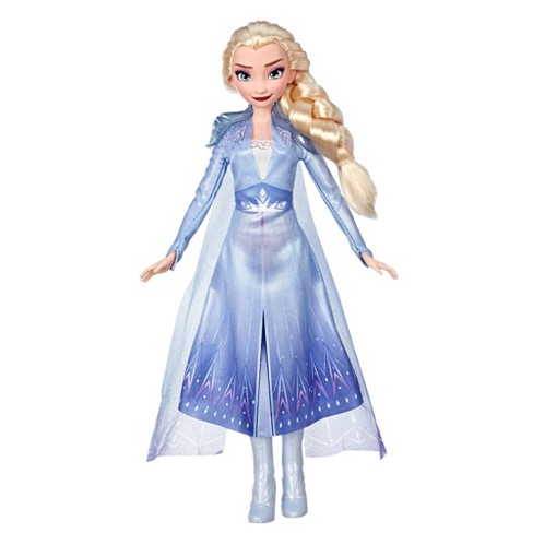 Disney Frozen 2 Elsa Fashion Doll With Long Blonde Hair and Blue Outfit - image 1 of 2