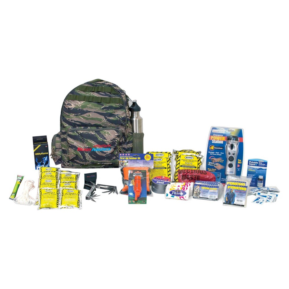 Ready America Emergency 4 Person Outdoor Survival Kit