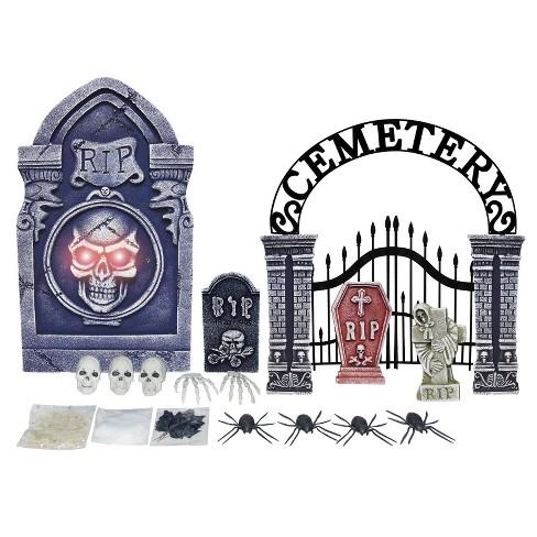 Halloween 20ct Tombstone Dcor Set - image 1 of 1