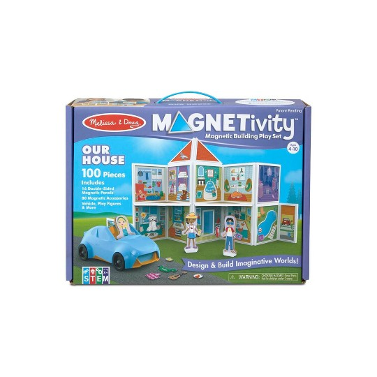 Melissa & Doug Magnetivity - Our House image number null