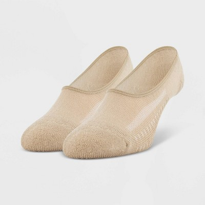 Peds Women's 2pk Cushioned Liner - Nude 5-10
