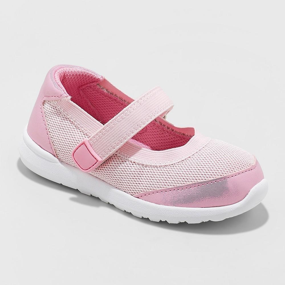 Toddler Girls' Eva Mary Jane Sneakers - Cat & Jack Pink 4