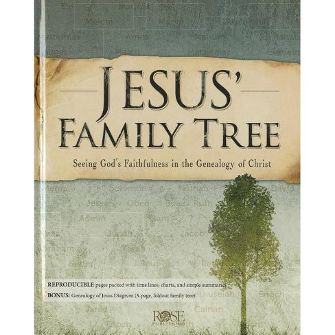 Jesus' Family Tree - by  Rose Publishing (Hardcover) - image 1 of 1