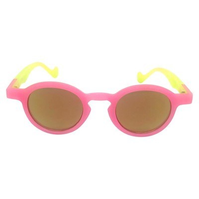Toddler Girls' Sunglasses - Cat & Jack™ Pink/Yellow