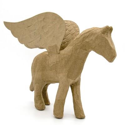 8  Paper Mache Pegasus - Kid Made Modern