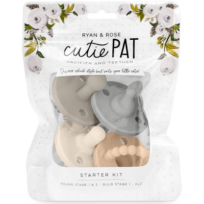 Ryan & Rose Cutie PAT Pacifier Kit - Neutral