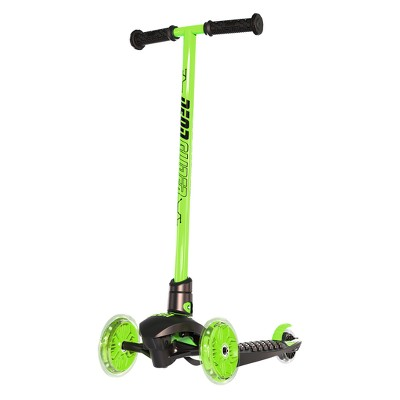 Yvolution Neon Glider  Kids' LED Light-Up Scooter - Green