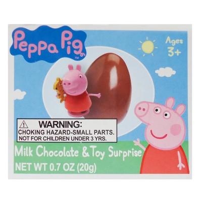 Topps Peppa Pig® Milk Chocolate Egg & Surprise Toy - 0.7oz