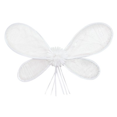 Little Adventures Deluxe Fairy Wings - White