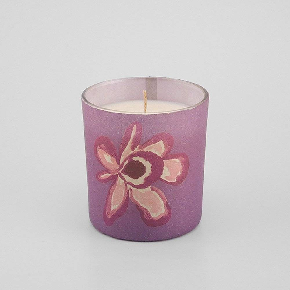5.2oz Paper Wrapped Flower Jar Candle Canopy Orchid - Opalhouse