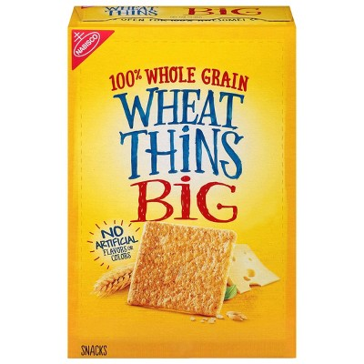 Crackers: Wheat Thins Big
