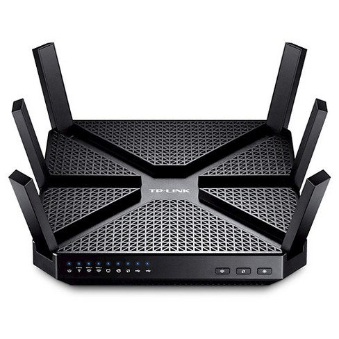 TP-LINK AC3200 Wireless Tri-Band Gigabit Router - Black (Archer C3200) - image 1 of 5