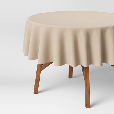 """70"""" Cotton Solid Tablecloth Natural - Threshold™"""