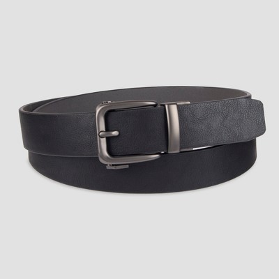 Men's Big & Tall 38mm Fit Belt - Goodfellow & Co™ Black