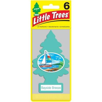 Little Trees Bayside Breeze Air Freshener 6pk