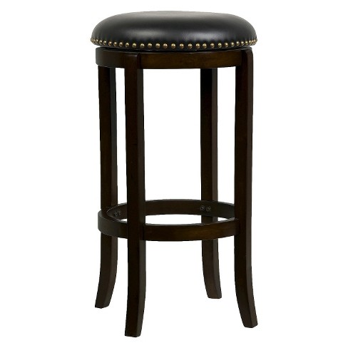 "Cordova Swivel 24"" Counter Stool Hardwood/Cappuccino - Boraam - image 1 of 1"