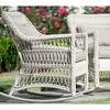 2pk Pearson All-Weather Wicker Rocking Chairs - Leisure Made - image 2 of 3