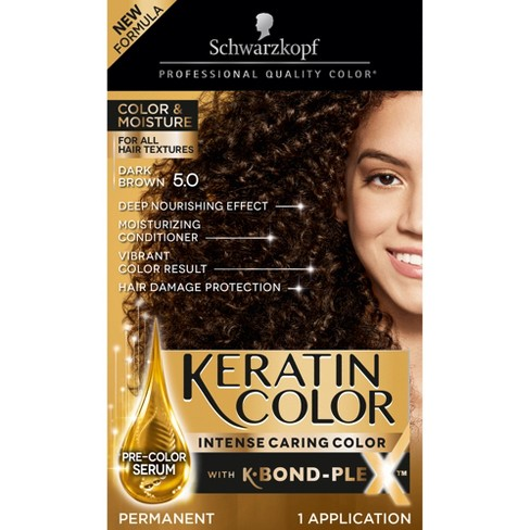 Schwarzkopf Keratin Color Dark Brown Permanent Hair Color - 6.2oz - image 1 of 4