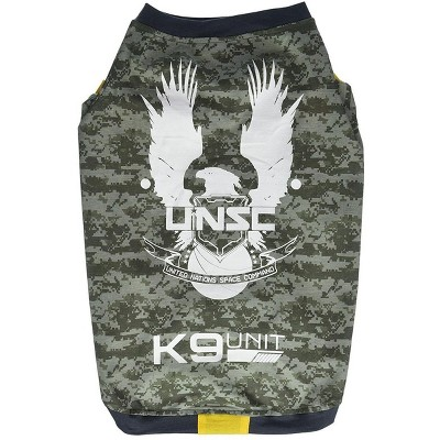 Halo UNSC K9 Division Dog Shirt