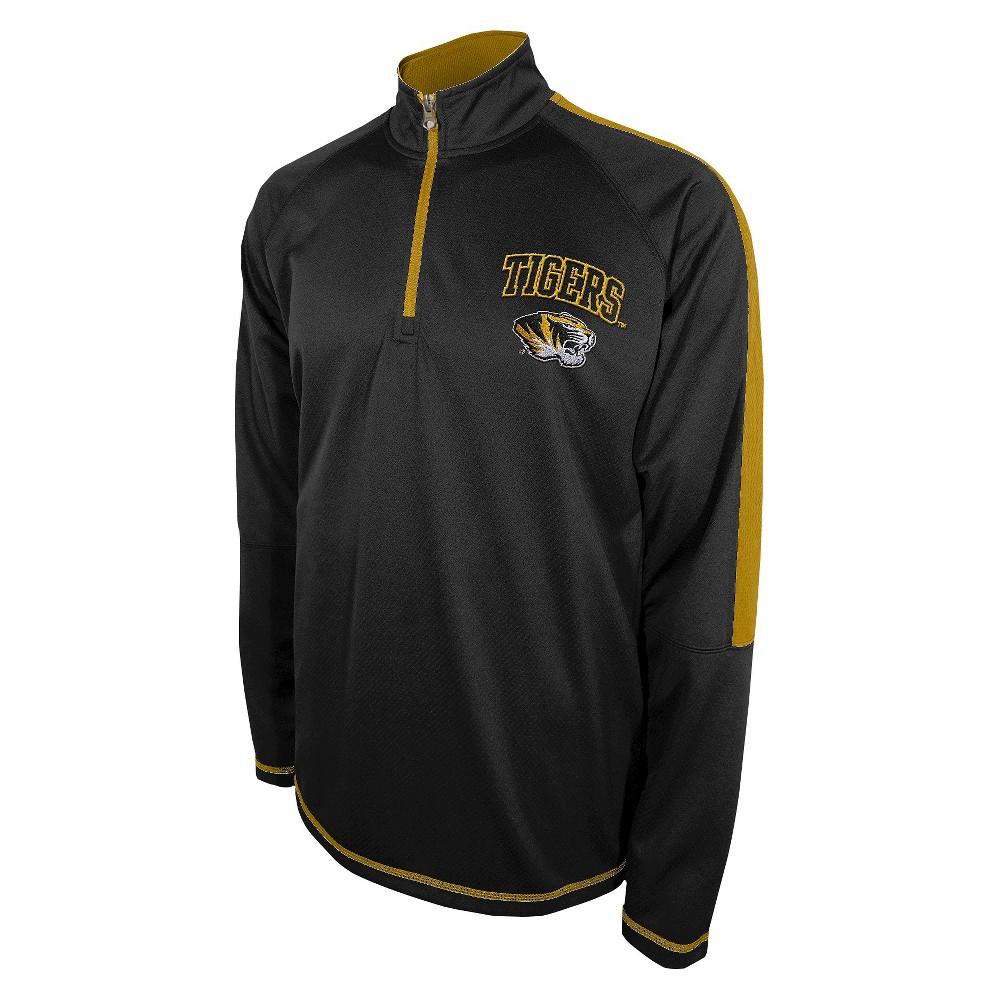 Men's Missouri Tigers Black Track Jacket - L