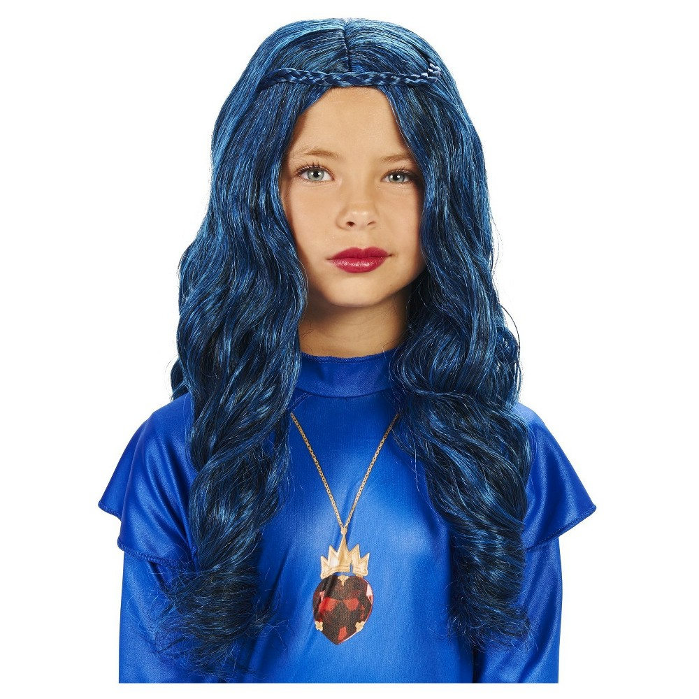 Kids' Princess Costume Wig Blue - One Size Fits Most, Girl's