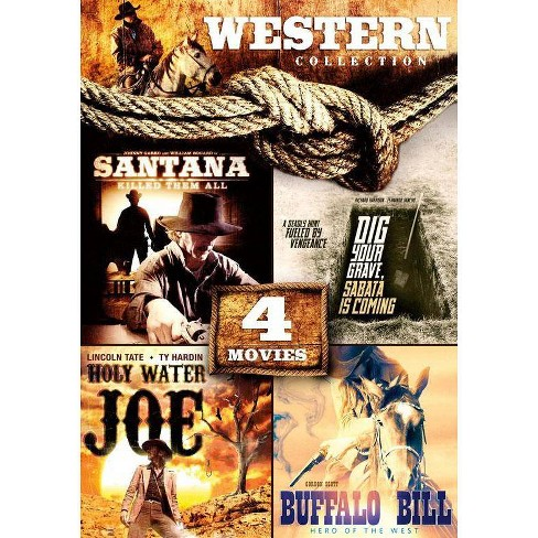 4-movie Western Collection (DVD) - image 1 of 1