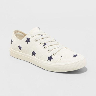 16df498d0 Women s June Canvas Lace Up Sneakers – Universal Thread™ Cream 10 ...