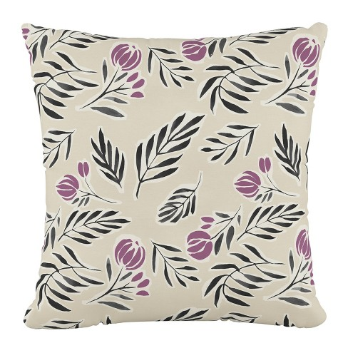 Floral Square Throw Pillow - Cloth & Co - image 1 of 4