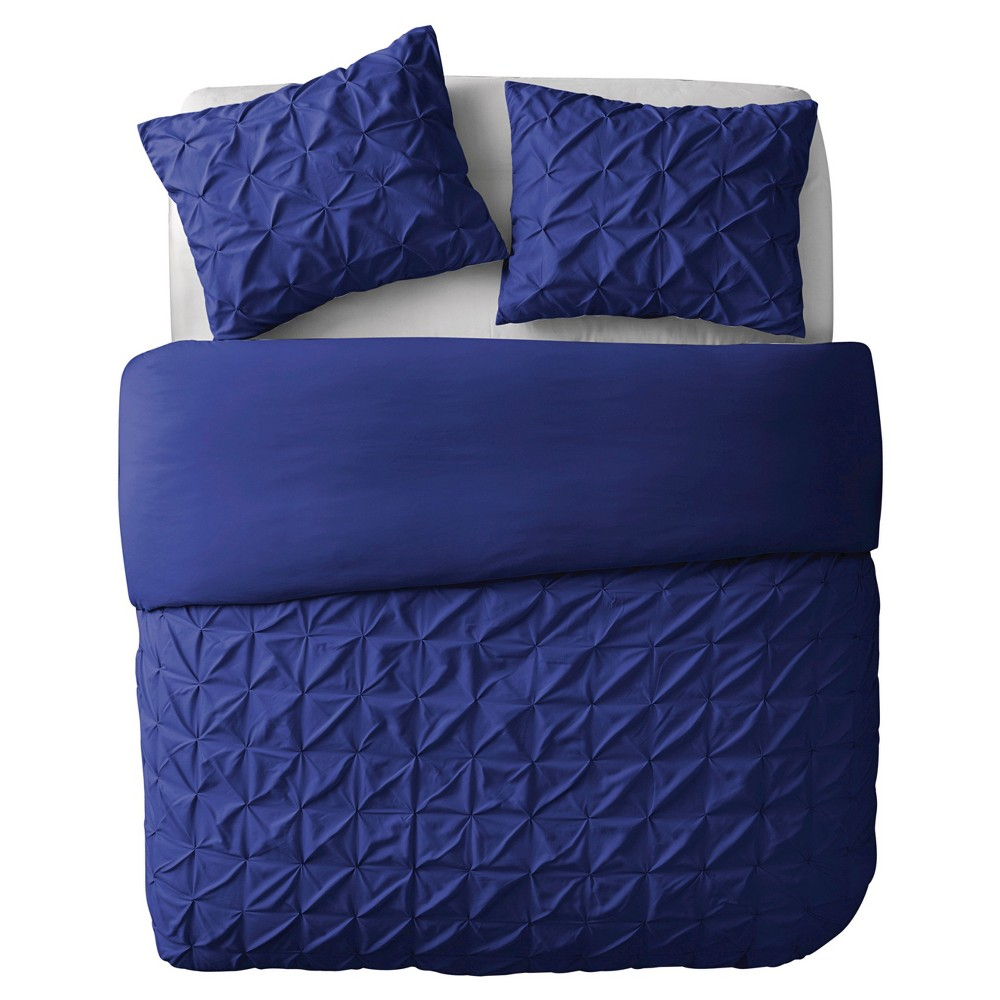 Image of Navy Madison Duvet Cover Set (King) 3 Piece - VCNY