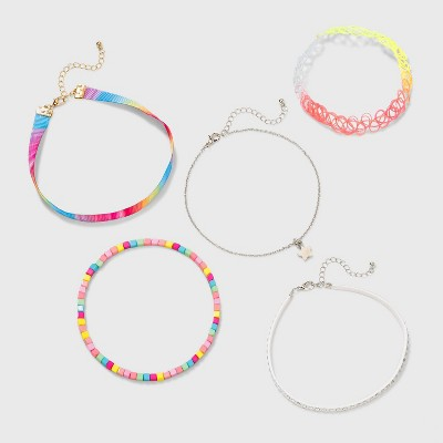 Girls' Choker Set with Star Charm and Stone - Cat & Jack™