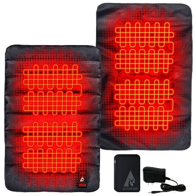 ActionHeat 7V Battery Heated Sleeping Bag Pad 40 Degrees