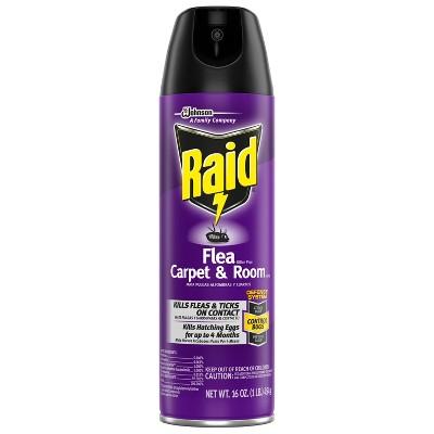 Raid Carpet & Room Flea Killer Spray - 160z/1ct