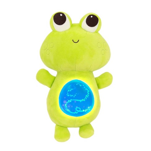 B. toys Musical Plush Frog - Twinkle Tummies - image 1 of 3