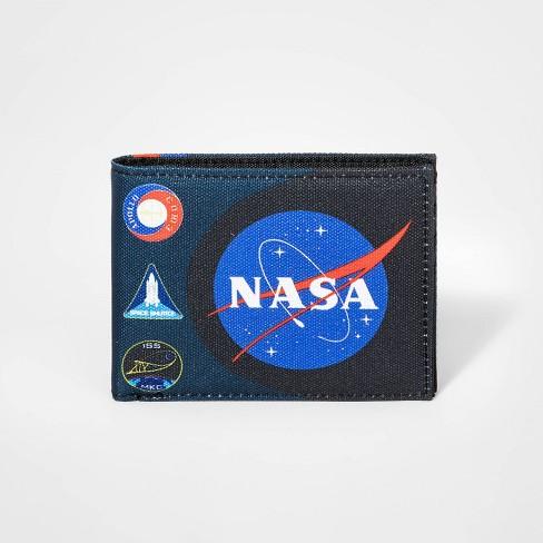 Boys' NASA Bifold Wallet - Navy - image 1 of 3