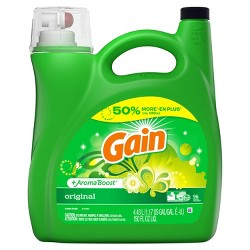 Gain HEC Original Liquid Laundry Detergent 150 oz