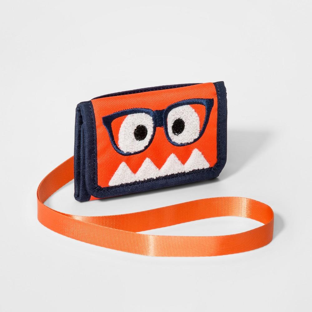 Girls' Monster Wallet - Cat & Jack Orange
