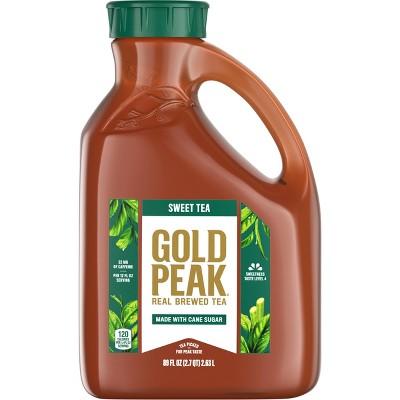 Gold Peak Sweetened Black Iced Tea Drink - 89 fl oz