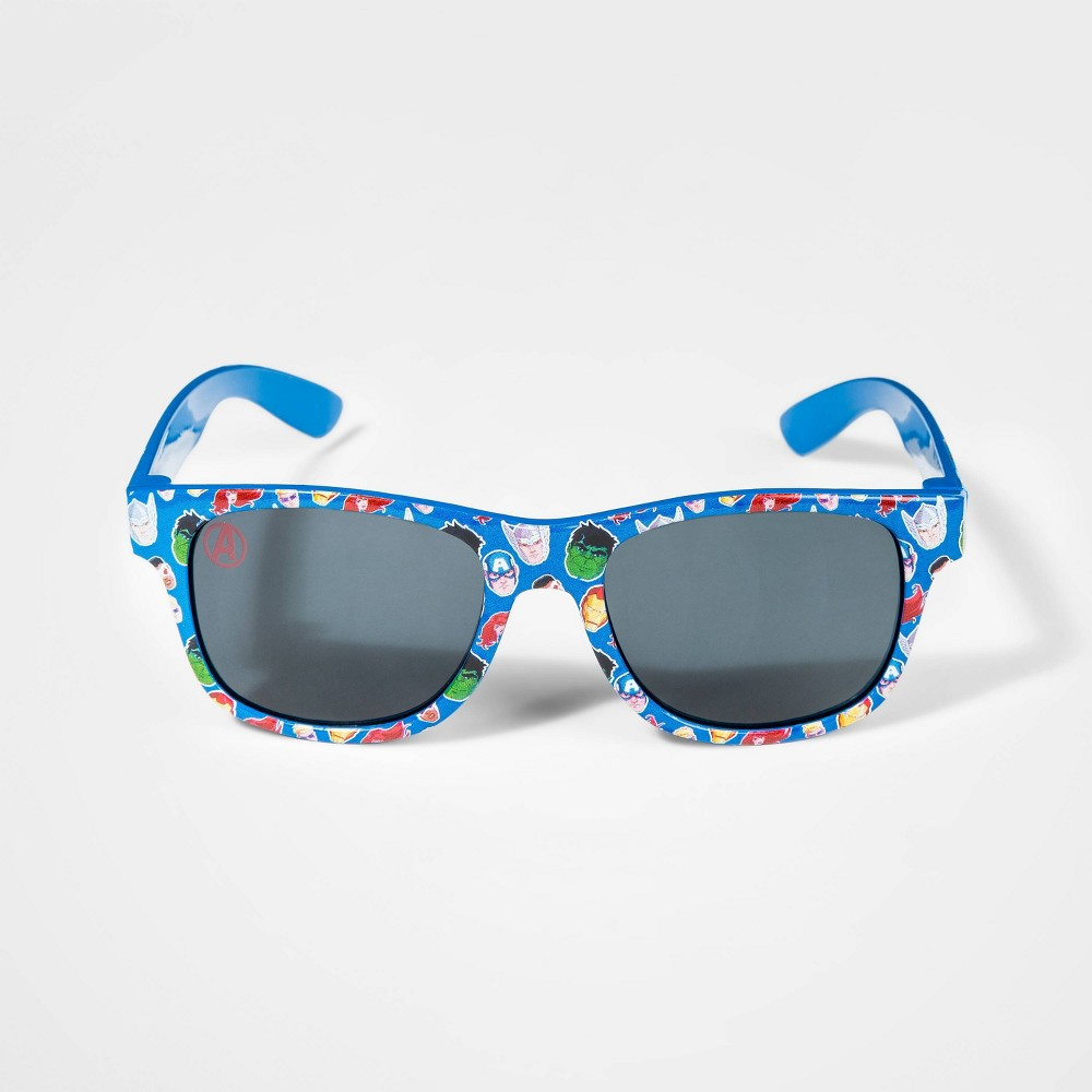 Image of Boys' Avengers Sunglasses - Blue, Boy's, Size: Small