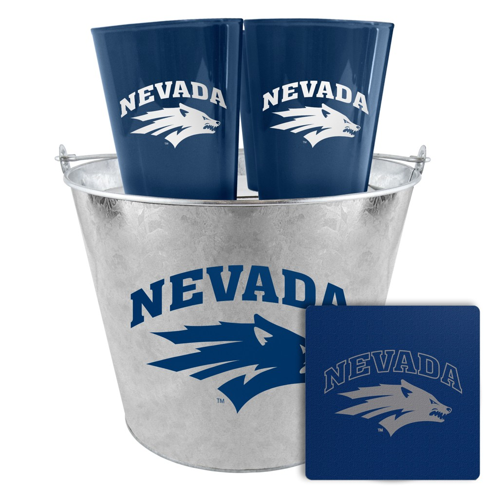 Nevada Wolf Pack Boelter Tailgate Bucket Set