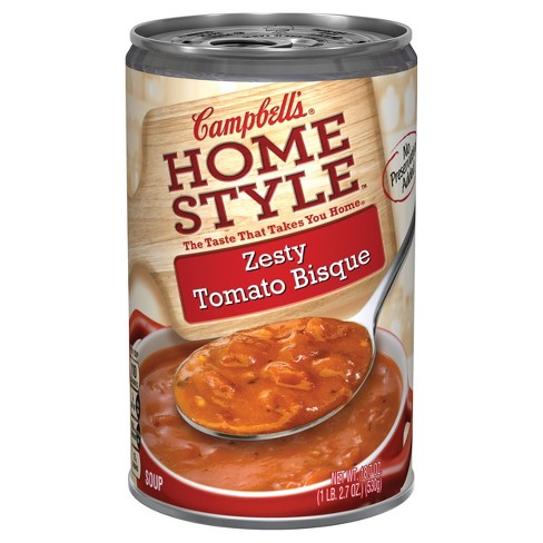 Campbell's® Homestyle™ Zesty Tomato Bisque Soup 18.7 oz - image 1 of 5