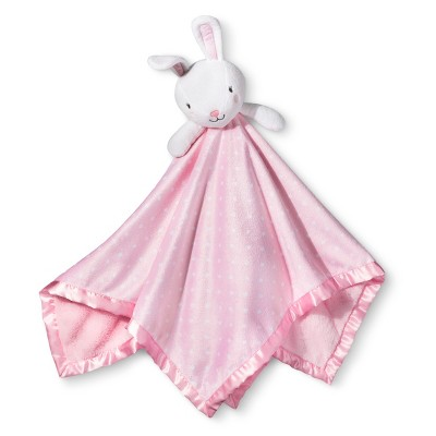 Large Security Blanket Bunny - Cloud Island™ Light Pink