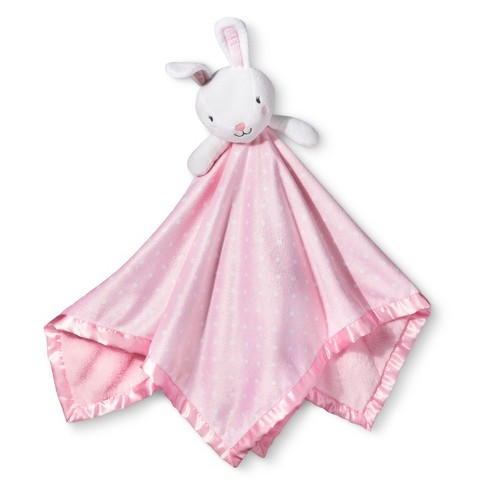 Large Security Blanket Bunny - Cloud Island™ Light Pink - image 1 of 1