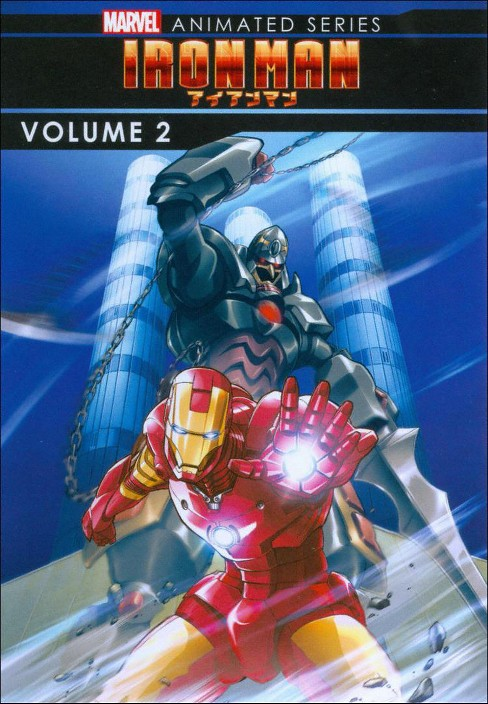 Marvel iron man:Animated series v2 (DVD) - image 1 of 1