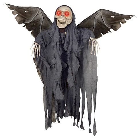 Halloween Animated Winged Reaper - image 1 of 1