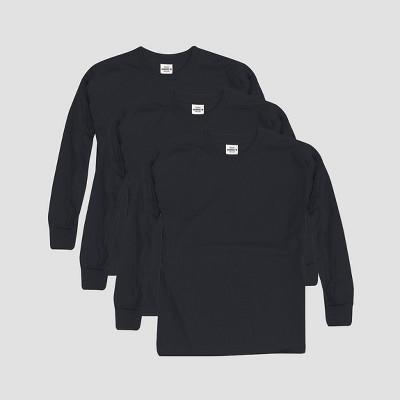 Hanes Kids' Comfort Soft 3pk Long Sleeve T-Shirt