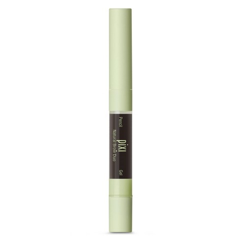 Pixi By Petra Natural Brow Duo - Deep Brunette .084 fl oz - image 1 of 4