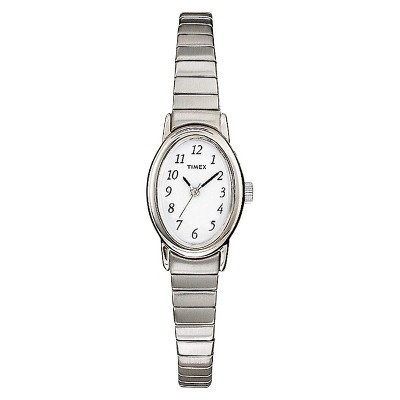 Women's Timex Cavatina Expansion Band Watch - Silver T21902JT